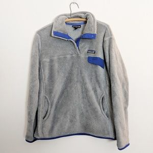 Patagonia Re-Tool T-Snap Pullover Fleece Jacket XL
